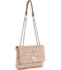 cartera cessily convertible xbody flap multicolor guess