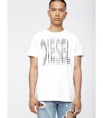 camiseta diesel t-diego-wm branco