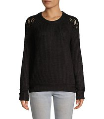 raglan-sleeve sweater