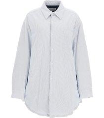 maison margiela padded shirt jacket