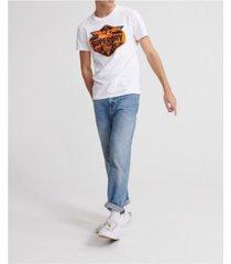superdry men's brand language t-shirt