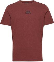 jprbladean ss tee crew neck t-shirts short-sleeved brun jack & j s
