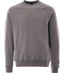 paul smith organic-cotton sweatshirt | grey | 970r-e20616 72