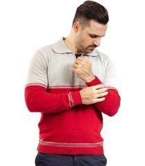 blusa gola polo de malha sumaré masculina