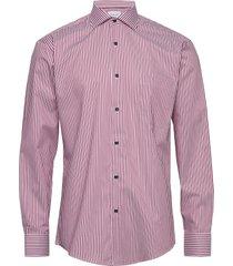 cni kadet stripe skjorta casual rosa seven seas copenhagen