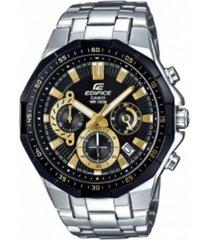reloj casio efr_554d_1a9v plateado acero inoxidable