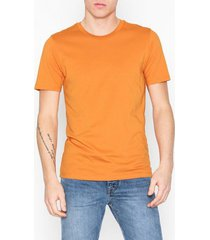 selected homme slhtheperfect ss o-neck tee b t-shirts & linnen orange