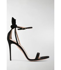 aquazzura bow tie 105mm bow sandals
