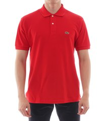 l1212240 - lacoste classic pique polo shirt - red