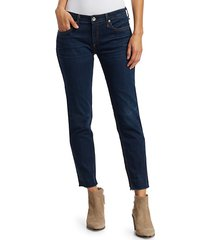 rag & bone women's dre slim boyfriend jeans - new worn - size 24 (0)