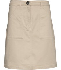 skirts woven kort kjol beige esprit casual