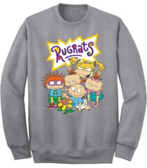 men's rugrats natural wonder crew fleece sweatshirt