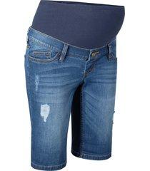 bermuda di jeans prémaman (blu) - bpc bonprix collection