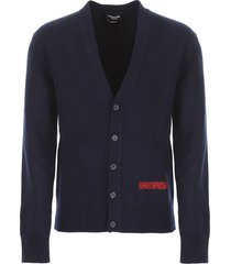 calvin klein cardigan with embroidery