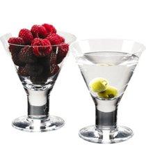 caprice martini glasses - set of 4