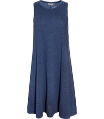 women's madewell highpoint tank dress, size small - blue