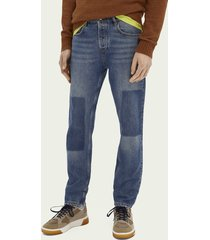 scotch & soda the norm - biologisch katoen - paradise found | straight fit jeans