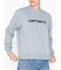 carhartt wip carhartt sweat tröjor black/gray