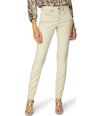 nydj ami stretch skinny jeans, size 14 in feather at nordstrom