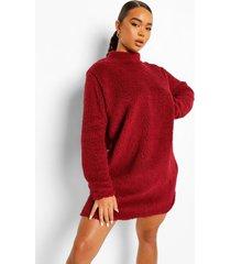 satijnen pyjama set met broek, berry
