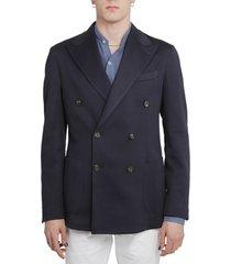 doppiaa navy aaradeo jacket