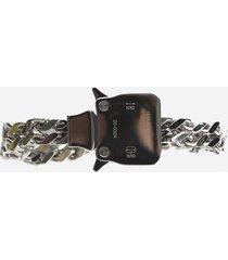 1017 alyx 9sm mini silver cubix bracelet