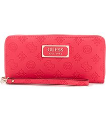 billetera logo love fucsia guess
