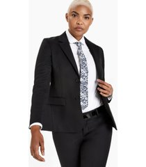 kirrin finch menswear-inspired black blazer