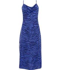 lange jurk lisca lima zomerse halflange jurk met dunne bandjes