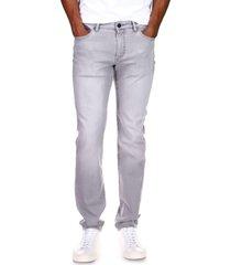 men's dl1961 men's nick slim fit stretch jeans, size 38 - grey