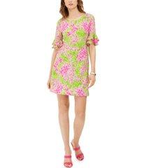 pappagallo the erika floral-print dress