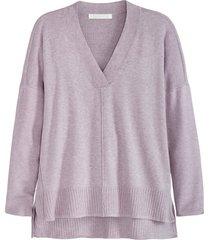 plus size women's adyson parker v-neck tunic, size 2x - purple