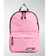 msgm logo nylon backpack