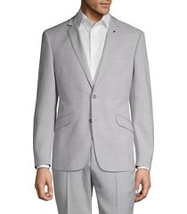 extra slim-fit chambray sport coat