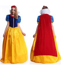 deluxe snow white costume disney fairytale princess long fancy dress halloween