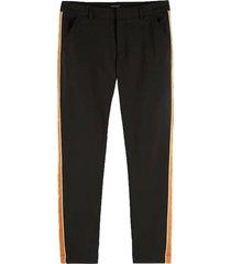 broek tailored stretch zwart