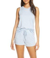 women's papinelle gemma spot short pajamas, size x-large - blue