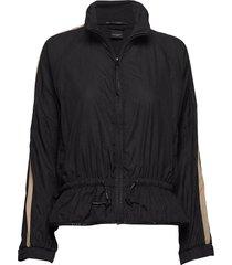 club nomade lightweight wind jacket sweat-shirt tröja svart scotch & soda