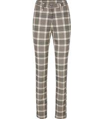 pantaloni a quadri slim fit (nero) - bpc bonprix collection