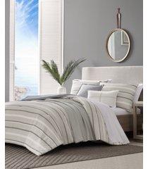 nautica woodbine full/queen comforter bonus set bedding