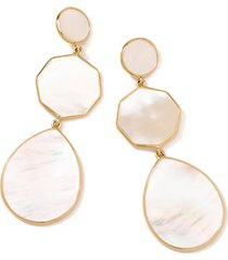 ippolita rock candy drop earrings in gold/pearl at nordstrom