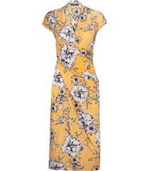rachel rachel roy brett floral-print midi wrap dress