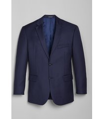 jos. a. bank men's 1905 navy collection slim fit suit separates jacket, bright navy, 42 short