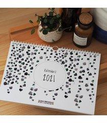 kalendarz ścienny 2021 - botaniczny a4