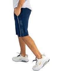 pantaloneta deportiva azul oscuro manpotsherd ref: l.a.x