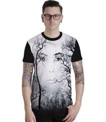 camiseta lucinoze camisetas manga curta figure preta