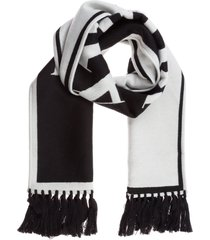 palm angels cashmere wool scarf