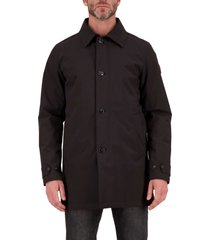 airforce george trench coat true black