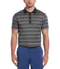 pga tour men's gradient stripe polo shirt