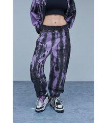 pantalón violeta 47 street slouchy lyra